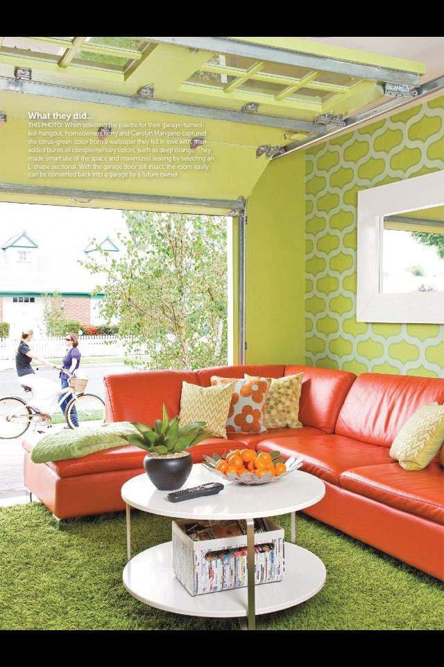 27 best other garage uses images on pinterest garage remodel garage makeover from do it yourself magazineybe not so feminine since its a garage but the idea of it is awesome solutioingenieria Choice Image