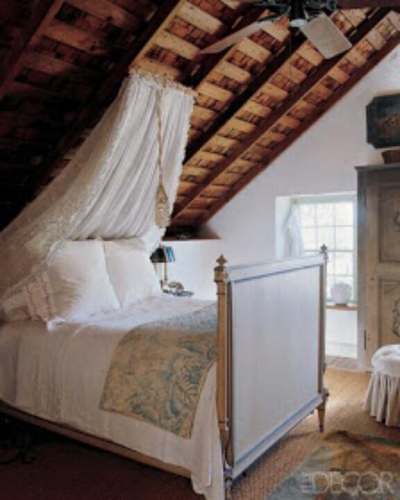 Ceiling Canopy Bedroom: Basement Bedroom/ Living Room
