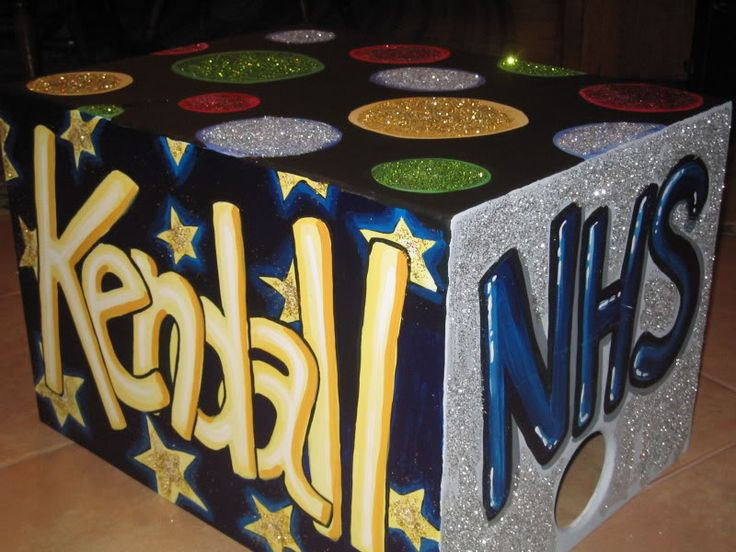 I have been hand painting cheer boxes since 1995. I have painted and continue to paint cheer boxes for schools in Orange County, Los Angeles County, San Diego County, Riverside County, and Nevada....