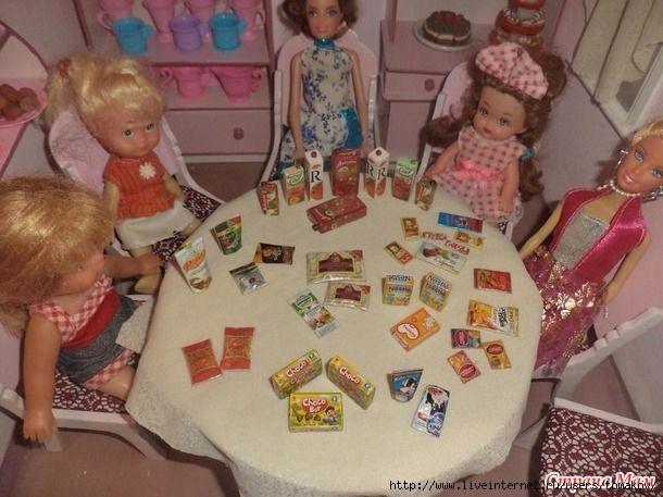 Для дочкиных кукол. Или мелочи для кукольного домика.. Обсуждение на LiveInternet - Российский Сервис Онлайн-Дневников