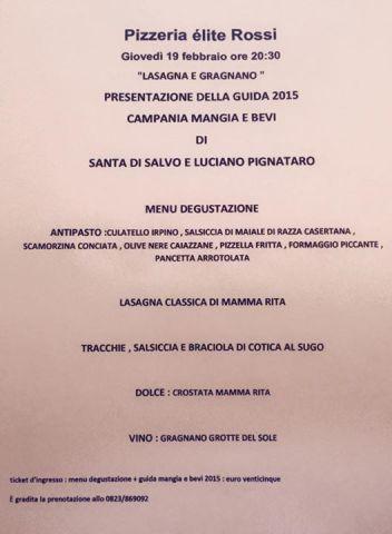Presentazione Guida 2015 Campania Mangia E Bevi