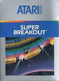 Just in time for Christmas Super Breakout Atari 5200 Video Game Cartridge.