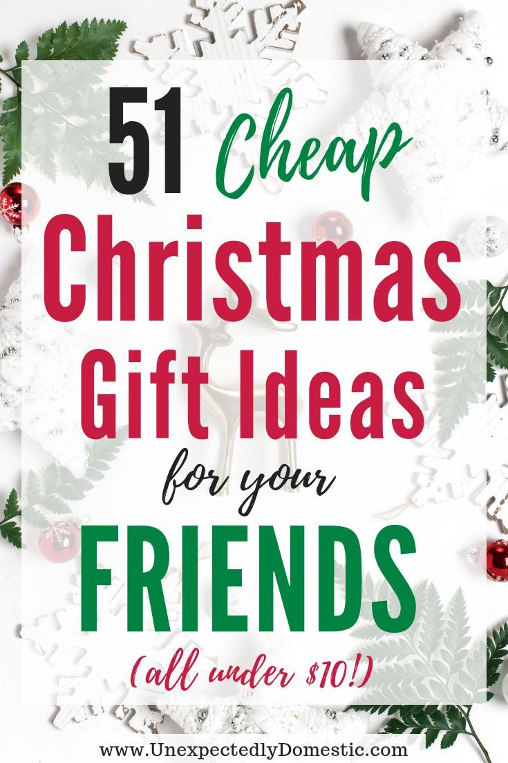 51 Cheap Gift Ideas Under $10 | gifts | Pinterest | Gifts, Christmas ...