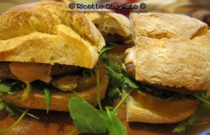 Hamburger speciale, dal tocco mediterraneo