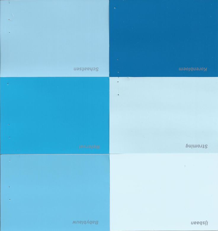 Blauwe verf van de Gamma - #blue paint  Muren worden watervalblauw en de rest wordt...blauw! En zo noemt de gamma de blauwe kleuren:  Korenbloem, Babyblauw, Schaatsen, Stroming, IJsbaan