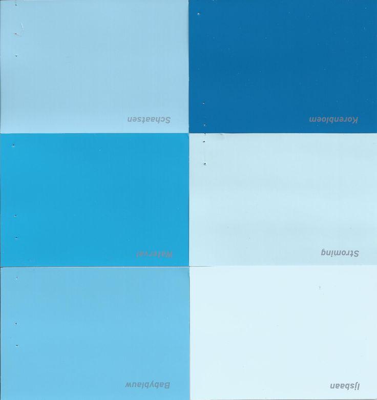 Blauwe verf van de Gamma   #blue paint Muren worden watervalblauw en de rest wordt   blauw! En