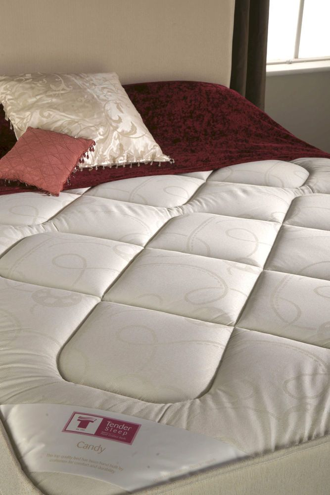 Candy Double Divan 4ft 6 Bed | Mattress & Base | Double Bed