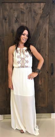 Imbler Aztec Maxi Dress – Rural Haze