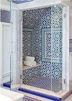 17 salles de bains en Zellige marocain qui valent ...
