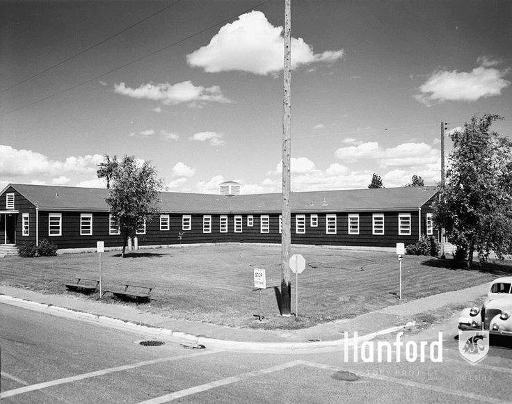 Kadlec hospital 1951 photograph courtesy of our