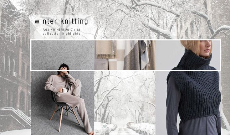 Winter Knitting - Telio Fashion Fabrics