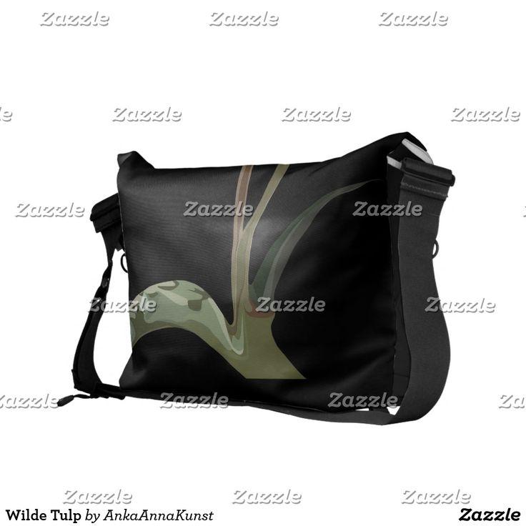 Wilde Tulp Courier Bag