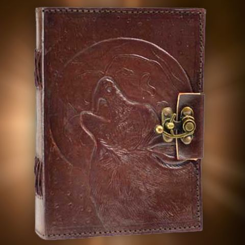 The Howling Wolf Book of Shadows will strengthen the traits you share with your wolf familiar, inspiring intelligence, authenticity, creativity, knowledge, freedom, and loyalty. The Howling Wolf Book