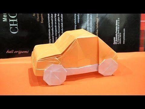 Origami Car (Artur Biernacki) Part 2 - YouTube