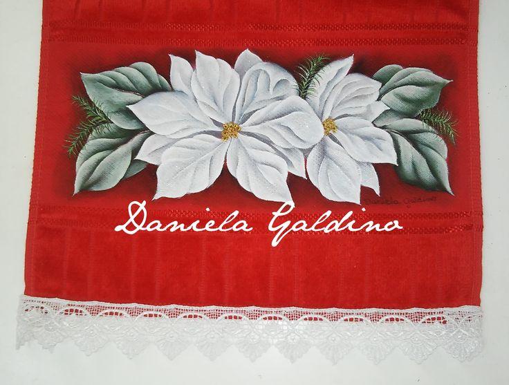 Toalha Lavabo Natal / Toilet Christmas Towel