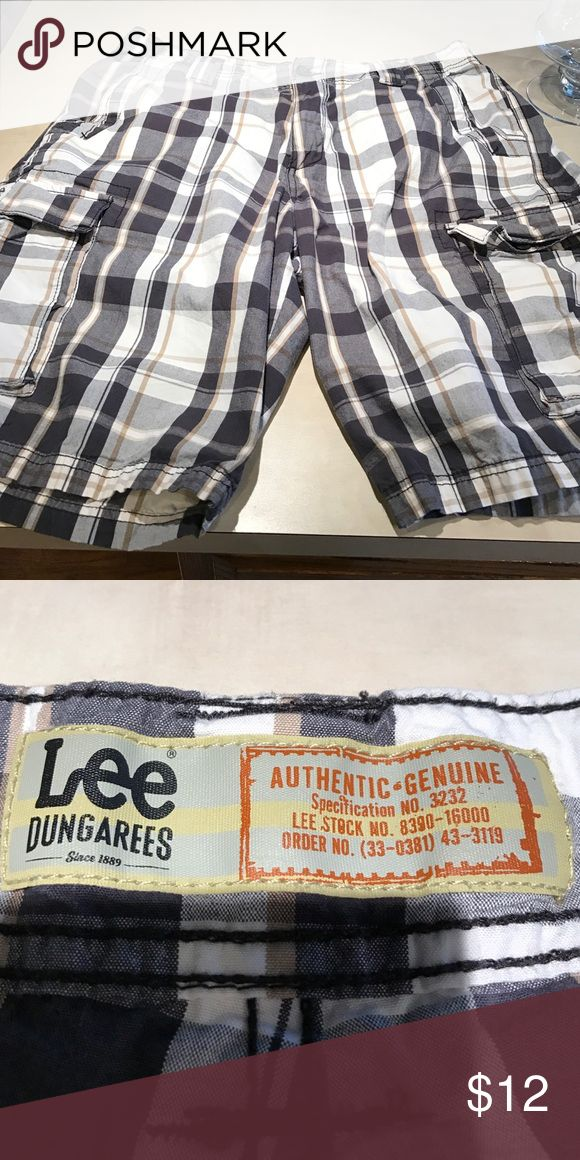 Lee Dungarees shorts Black grey and tan Cargo shorts lee dungarees Shorts Cargo