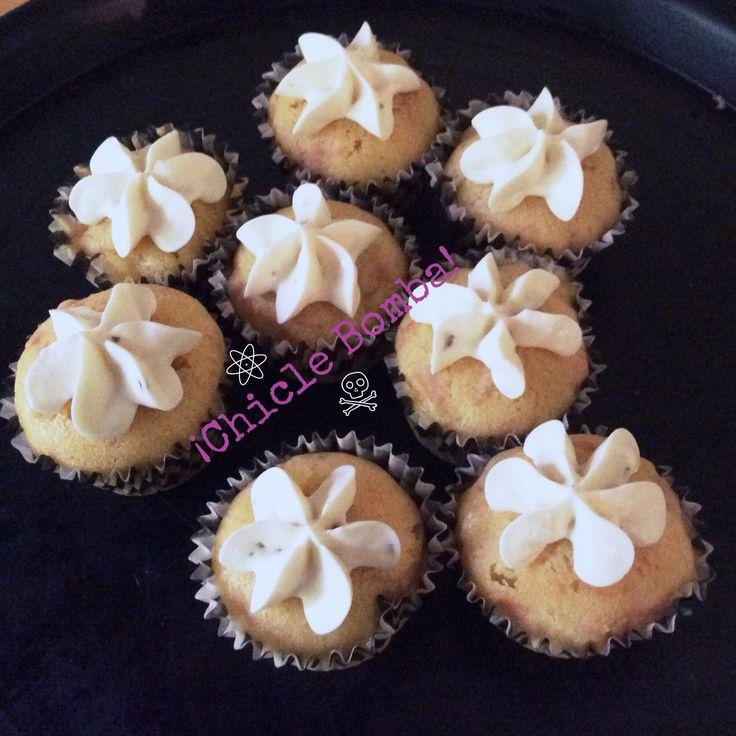 Cupcakes hawaianos