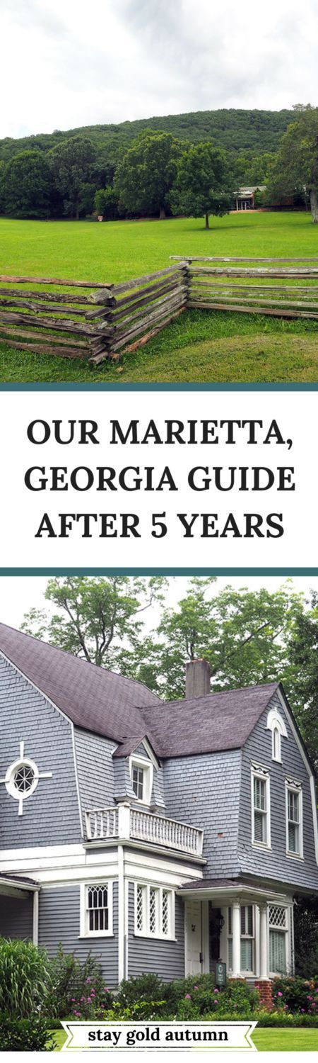 Our 5 years living in Marietta, Georgia, this is my guide to some of my favorite places to see, visit, and restaurants to go to. | via Stay gold Autumn