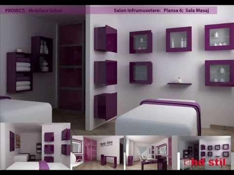 Amenajare Salon Infrumusetare - realizat in 3ds max