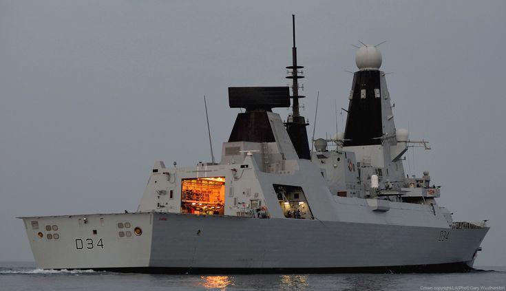 hms diamond d 34 type 45 daring class destroyer