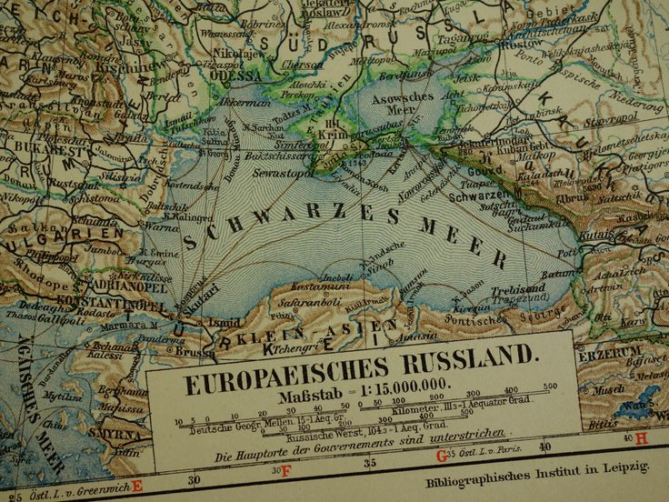 """1913 antique map of Russia - beautiful vintage old poster - Tsar empire Russland karte carte Russie Poland Finland Rusland - 25x33c 10x13"""" by VintageOldMaps on Etsy"""