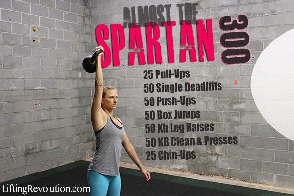 Spartan 300 workout