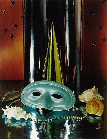 Party-mask with Shells paul outerbridge, 1936