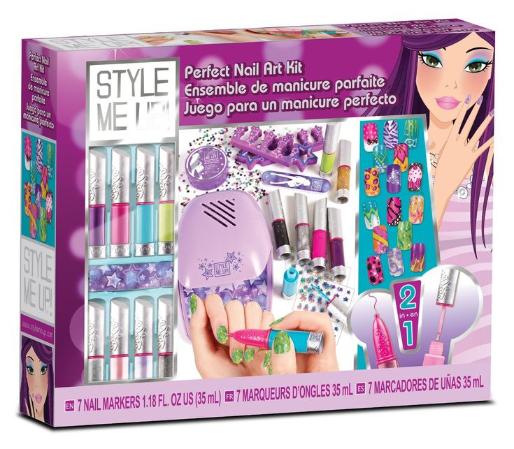 Personnalise tes ongles à l'aide d'accessoires branchés et sèche-les à l'aide du séchoir pour les ongles ! #ongle #vernis #manucure #loisircréatif
