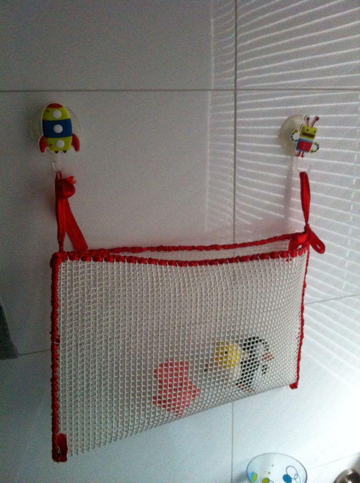 Canasto para juguetes de baño