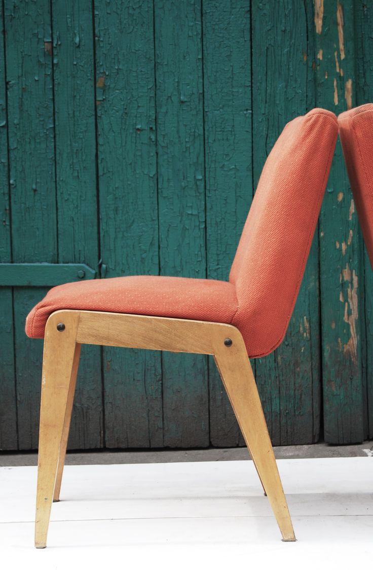krzesło typ OA-200-125-Var, lata 60/70. Fabryki Mebli Giętych Jasienica, k. Bielska
