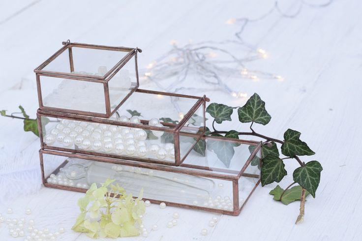 Zestaw zamykanych pudełek - GlassWoodMe - Skrzynki i pudełka