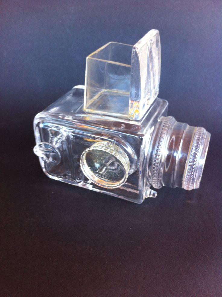 Glass Camera..Lindershamer....signed