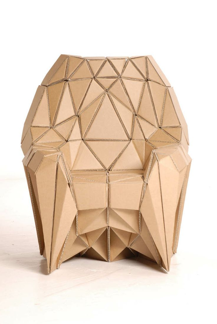 Corrugated cardboard furniture - Find This Pin And More On Structural Design Corrugated Cardboard