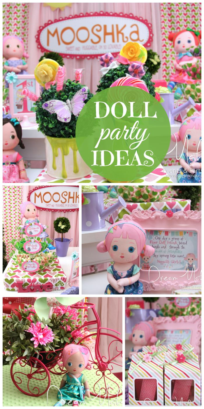 44 best Rag Doll Party images on Pinterest Doll party Birthday