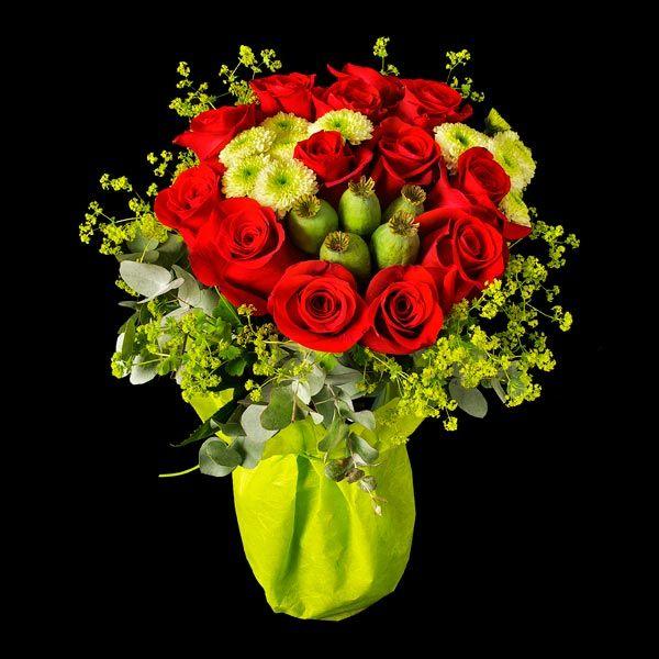 Roma . Ramo de Rosas rojas. Envíos de rosas.