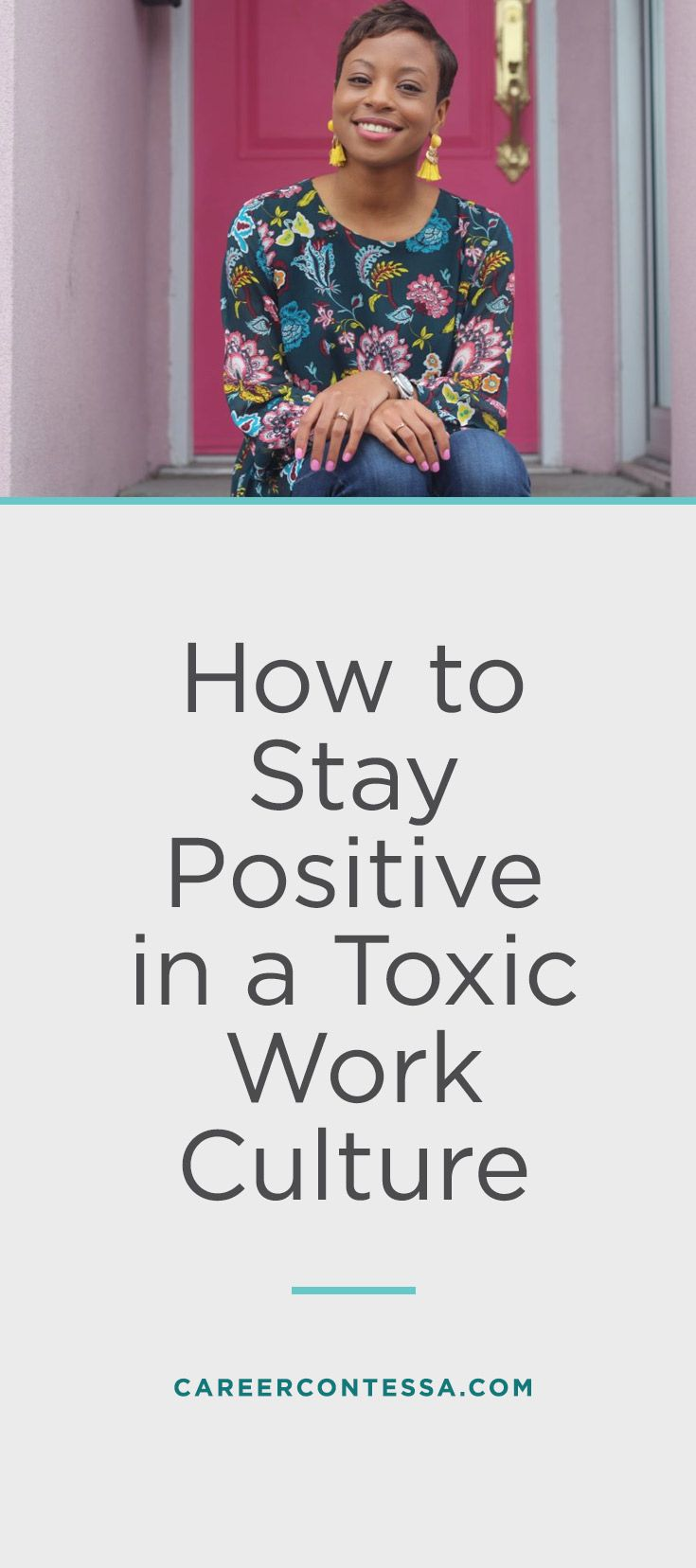 We tend to assume that the hardest part of the job is doing the position itself. But then one morning, you wake up dreading going to work because of your negative coworkers and its toxic company culture. And you ask yourself, can I change the environment of your workplace for the better? Or is it just a lost cause? Let's find out how to stay positive in a negative work place.   CareerContessa.com