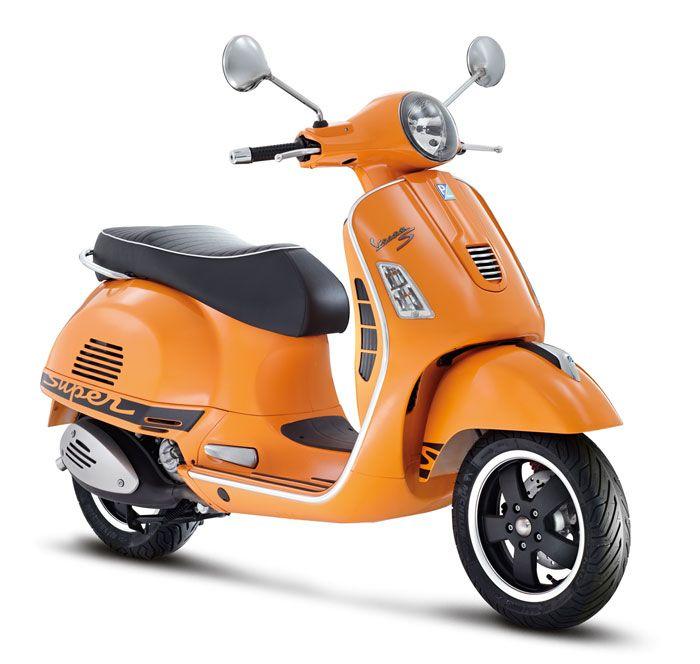 Orange Vespa 300 Super Sport - Aceito esta para prenda de aniversário!