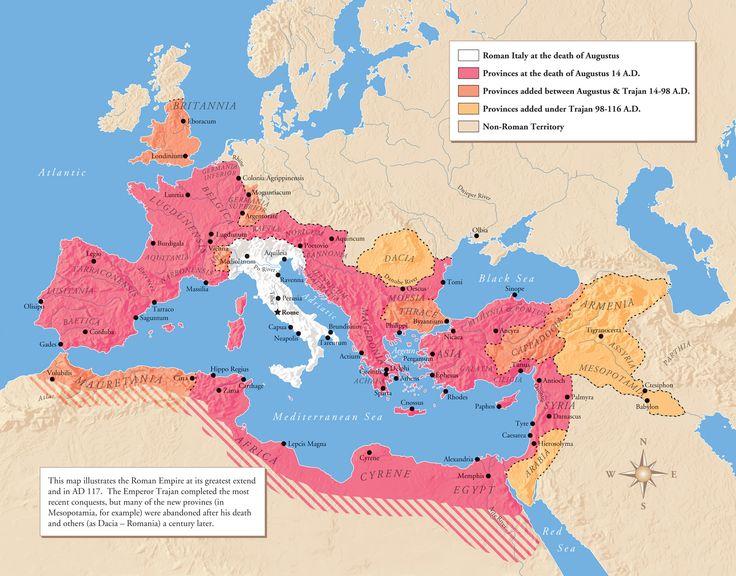Best Mapas De Roma Images On Pinterest Ancient Rome Roman - Map of rome under trajan