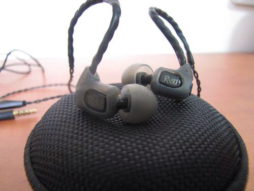 Rock-it Audio R50 in-ear earphones  Dual balanced armature
