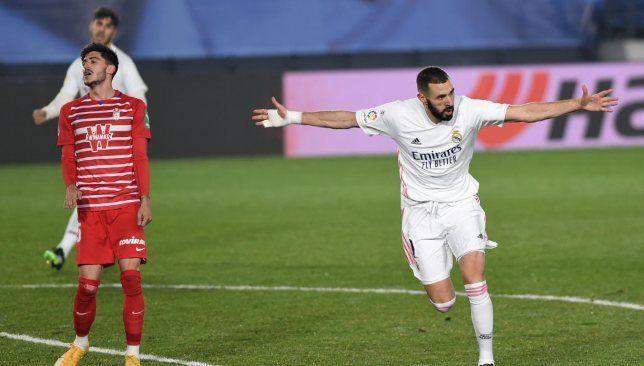 ترتيب هدافي الدوري الإسباني بعد نتائج مباريات اليوم الأربعاء في الجولة 15 سبورت 360 وضع النجم الفرنسي كريم بنزيما مهاجم فريق ريا Soccer Field Soccer Madrid