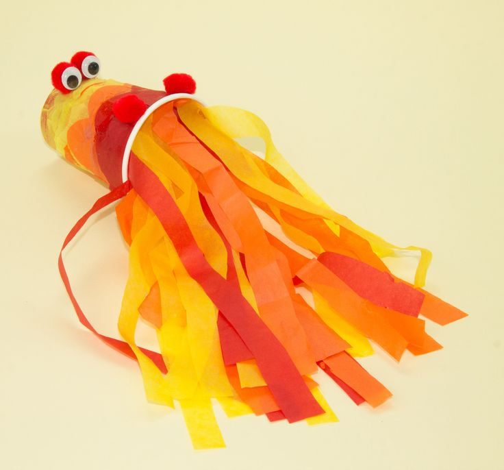 Fire Breathing Dragon Craft - this easy craft is a great afternoon activity for your Chinese New Year topic
