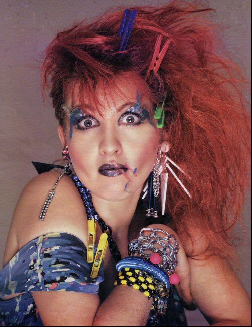Sparkle Icon: Cyndi Lauper                              …