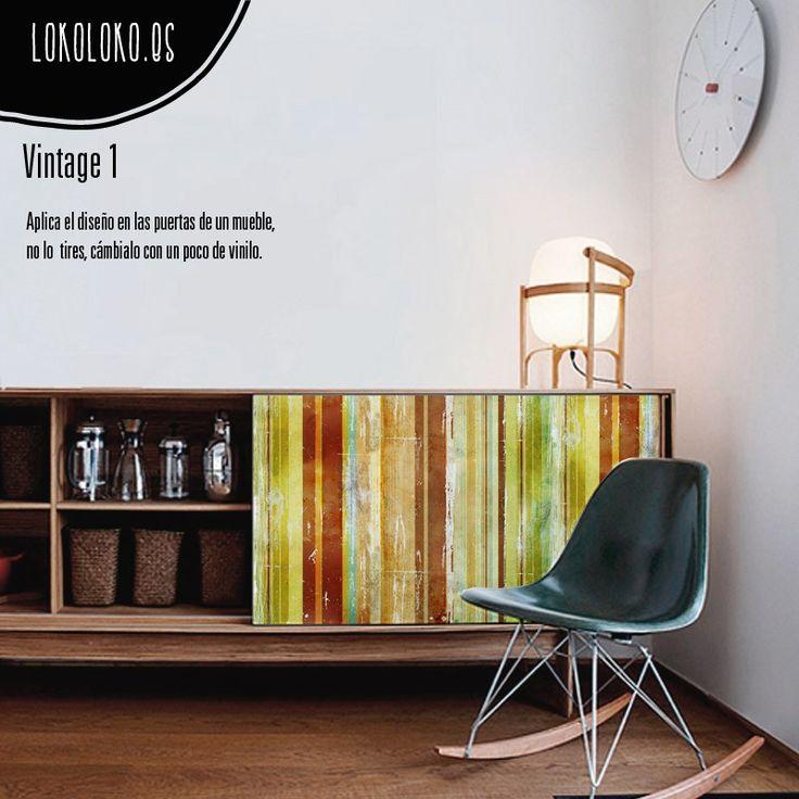 Vinilo de impresión de madera de colores para forrar muebles de casas, pisos, restaurantes y empresas. Decora tu mesa con este vinilo de madera vintage.