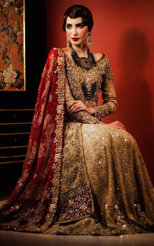 Tena Durrani Bridals 2016 (Desi Bridal Shaadi Indian Pakistani Wedding Mehndi Walima Lehenga / #desibridal #indianbridal #pakistanibridal #saree #indianwedding #pakistaniwedding #desiwedding #wedding #shaadi #lehenga #bridal #mehndi #walima #bollywood)