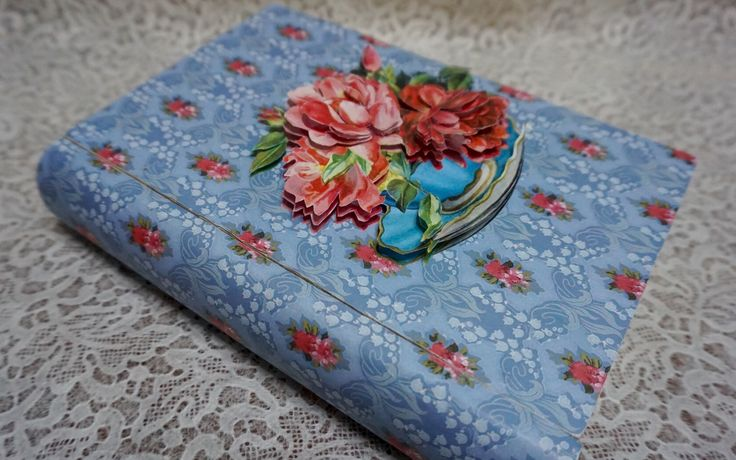 Decorated Box, Decoupage, Dekupaz, Pop-up