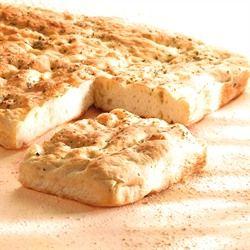 İtalyanın geleneksel ekmeği Focaccia...  #ekmek #italyan #focaccia #otentic #puratos