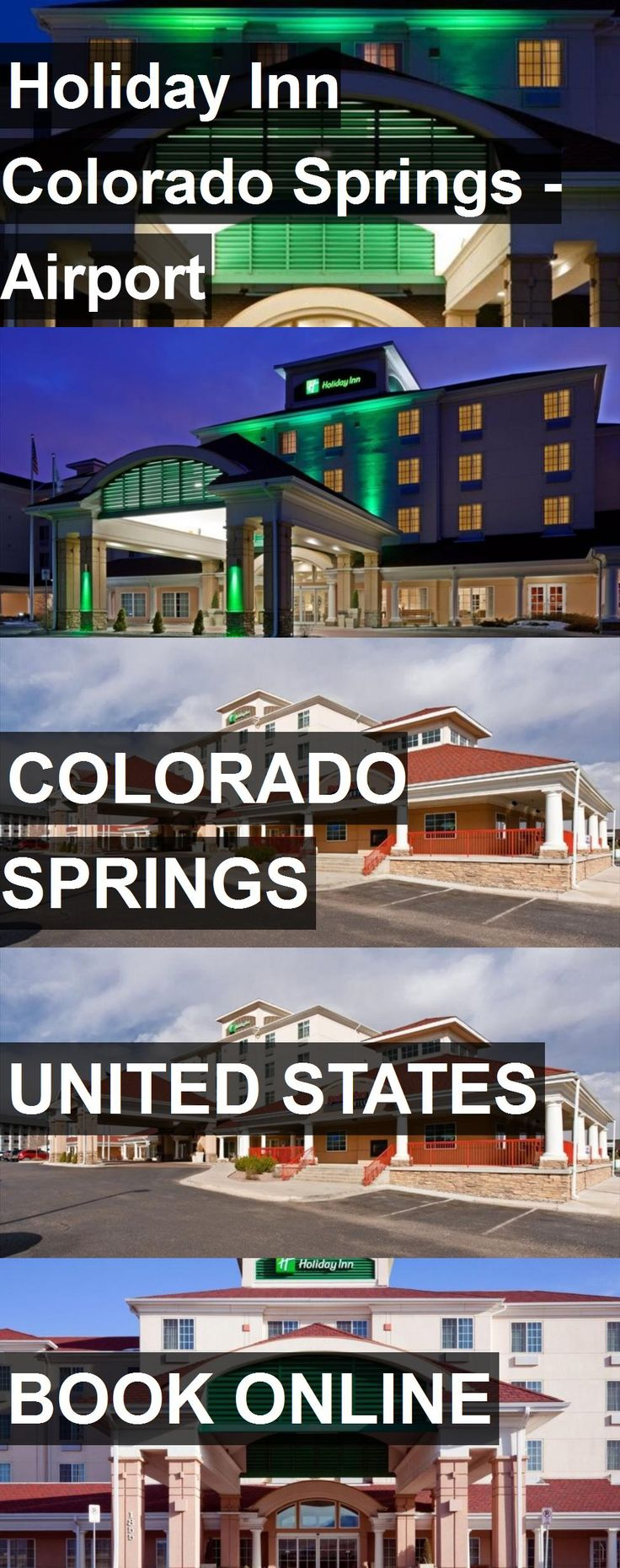 Us Map With State Abbreviations And Time Zones%0A Hotel Holiday Inn Colorado Springs  Airport in Colorado Springs  United  States  For more