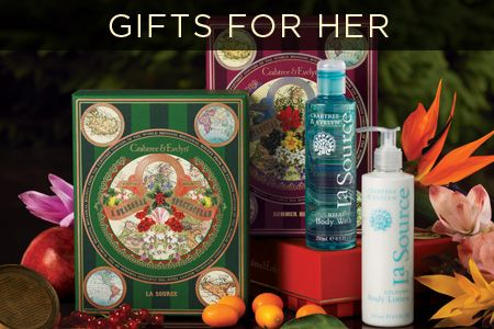 'Tis the season to indulge in Crabtree & Evelyn luxury with our beautiful seasonal gifts for her!