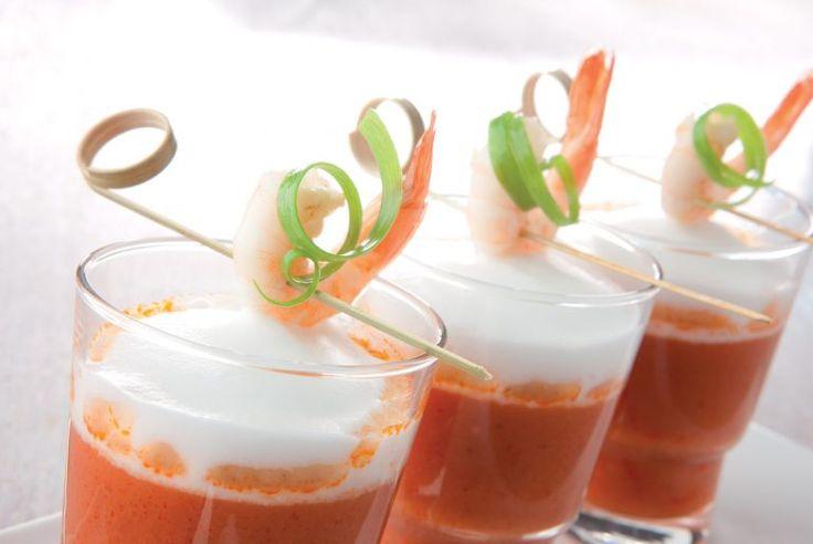 Tomaten cappucino soep