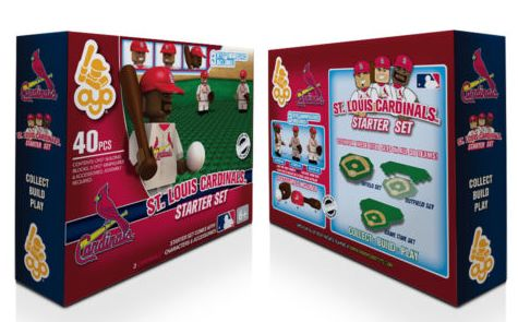 St. Louis Cardinals LEGO Starter Set With 3 Figures, $26.99 Shipped